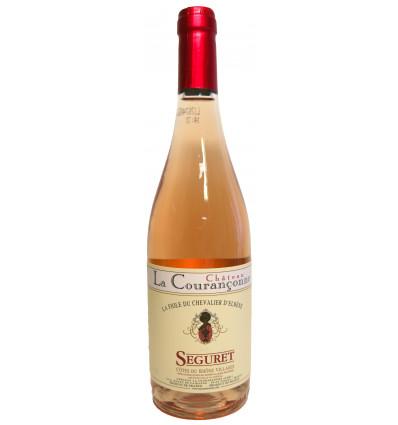 Séguret Rosé - La Fiole du Chevalier D'Elbène - Château le Courançonne