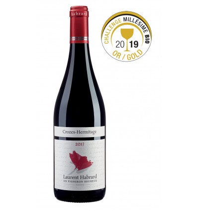 Crozes-Hermitage rouge - Laurent Habrard